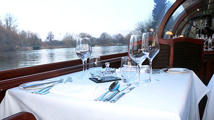 Bateaux Windsor Thames Sunday Lunch Cruise for Two