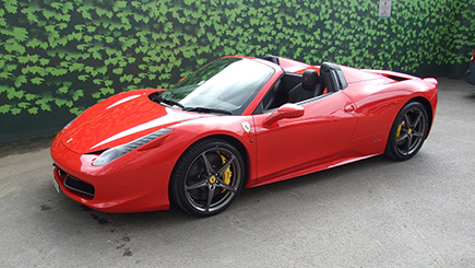 Ferrari 458 Spider Weekend Hire