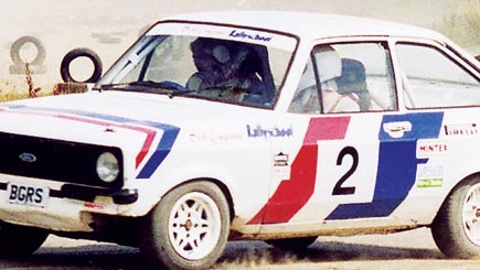 Rally Driving For Two At At Westbury  Northamptonshire