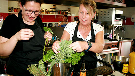 Cookery Course for Two at the Orange Kitchen School of Cookery