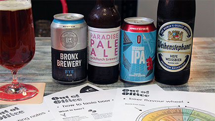 Craft Beer Sommelier Masterclass for Two, London