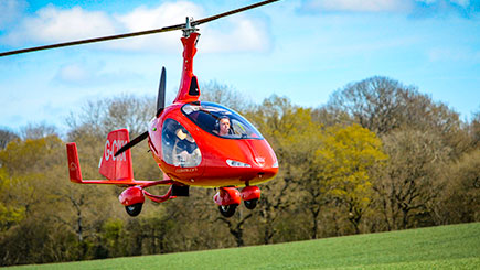 20 Minute Gyrocopter Flight in the West Midlands