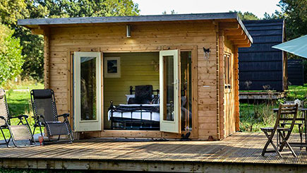Two Night Weekend Lodge Break for Two in Dorset