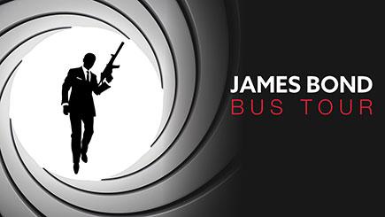 James Bond London Bus Tour for Two