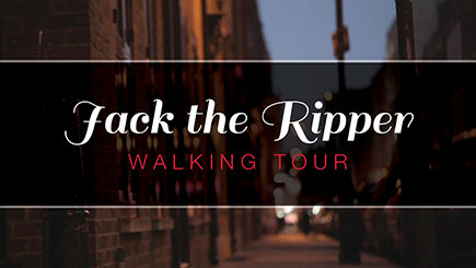 Jack the Ripper London Walking Tour for Two