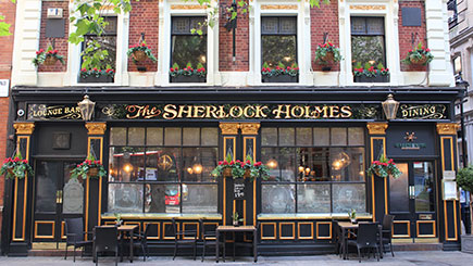 Sherlock Holmes London Walking Tour for Two