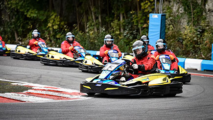 Outdoor Grand Prix Karting for Four