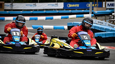 Outdoor Grand Prix Karting for Two