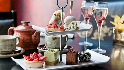 Luxury Afternoon Tea for Two at Buddha-Bar London