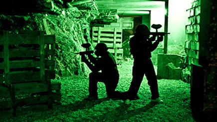 Indoor Paintballing in London for Two