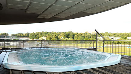 Relax and Indulge Spa Day with Lunch for Two at Brooklands Hotel, Surrey