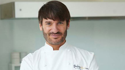 Baking Masterclass with Eric Lanlard at Cake Boy