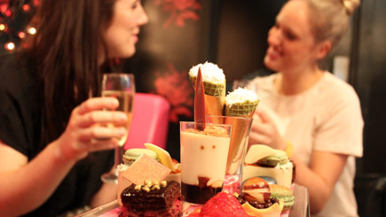 Luxury Champagne French Afternoon Tea for Two at Cake Boy