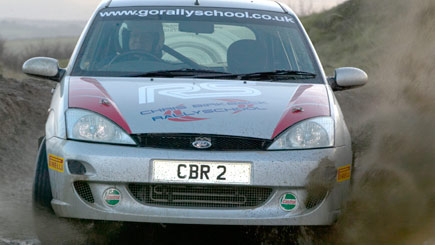 Rally Driving for Two in Yorkshire