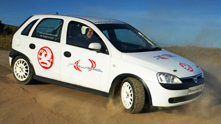 Junior Rally Driving Experience In Yorkshire