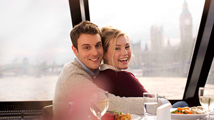 River Thames Cruise with Lunch for Two