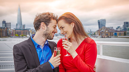 River Thames Showboat and Dinner Cruise for Two