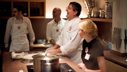 Tuscan Cooking with Giancarlo Caldesi for Two