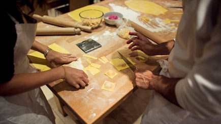 Fresh Pasta Making Class at Giancarlo Caldesi's La Cucina Caldesi