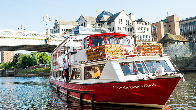 River Cruise of York with Lunch for Two