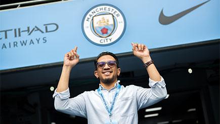 Manchester City Etihad Stadium Tour For One