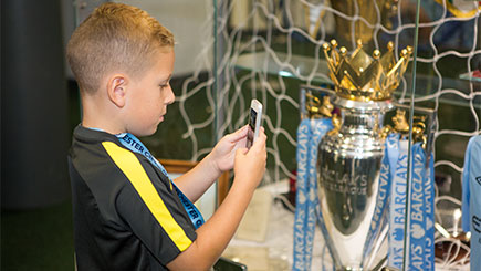 Legends Tour of Manchester City FC's Etihad Stadium