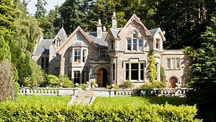 Country House Escape for Two at Cluny Bank Hotel, Moray