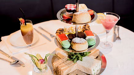 Sparkling Afternoon Tea for Two at The Cranley Hotel, South Kensington