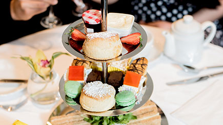 Afternoon Tea For Two At The Cranley Hotel  South Kensington