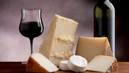 Wine and Cheese Matching for Two