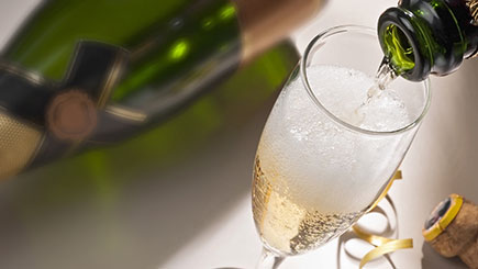 Champagne Tasting Evening for Two
