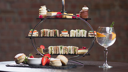 Afternoon G and Tea for Two at Crowne Plaza Nottingham