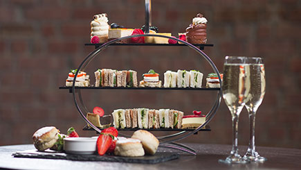Sparkling Afternoon Tea for Two at Crowne Plaza Nottingham