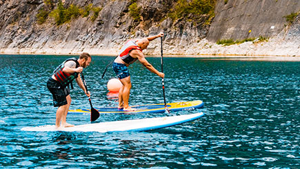 Intro to Paddleboarding for Two