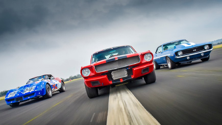 Triple American Classic Car Blast and Hot Ride