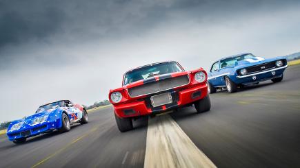 Triple American Classic Car Blast and Hot Ride