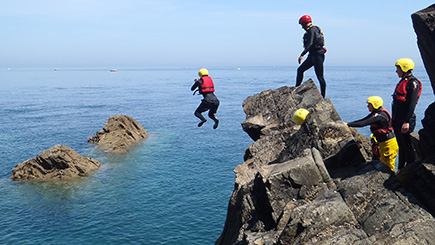 Coasteering In Devon