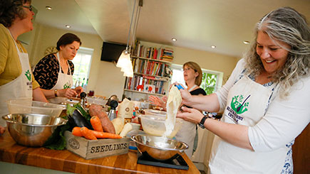 Healthy Cake Baking at Blackberry Cottage