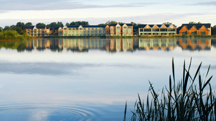 Hotel Escape With Dinner For Two At De Vere Cotswold Water Park