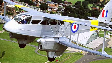 40 Minute Biplane Sightseeing Tour of Cambridge