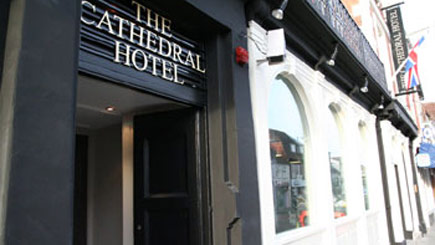 Hotel Escape with Dinner for Two at The Cathedral Hotel, Wiltshire
