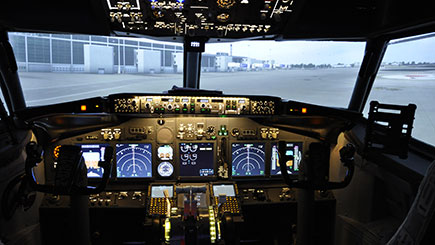 80 Minute Flight Simulator Experience in Cheshire