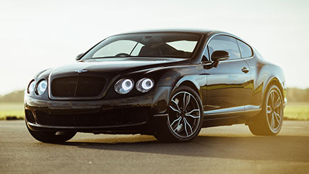 Bentley Thrill and Hot Ride