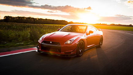 Nissan GTR Thrill and Hot Ride