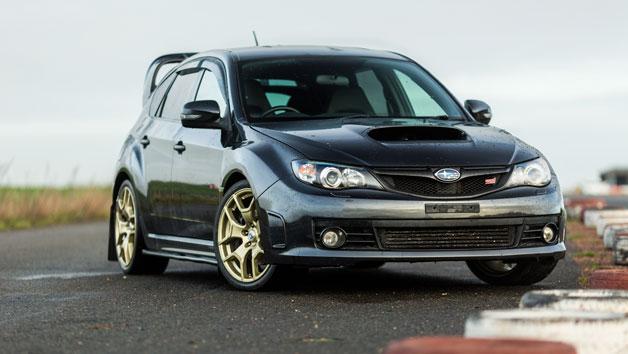 14 Lap Subaru Sti Vs Mitsubishi Evo Driving Experience in Hertfordshire