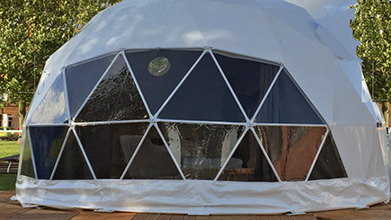 Two Night Geo Dome Break in Dorset (Sleeps Four)