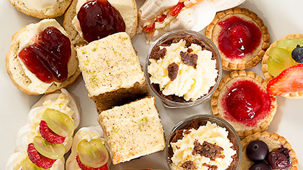 Sparkling Afternoon Tea for Two at Dale Hill Hotel and Golf Club