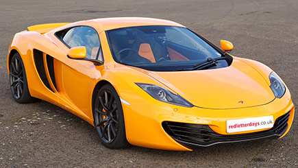 McLaren Driving Thrill at Mallory Park