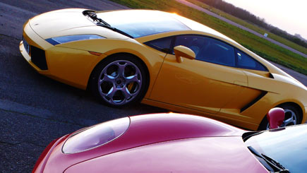 Lamborghini and Ferrari Driving Thrill in Stafford