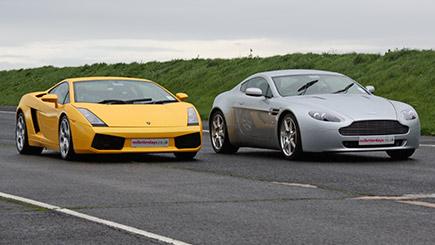 Aston Martin versus Lamborghini Thrill